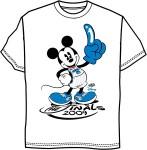 Disney World Orlando Magic NBA Finals Tee Shirt