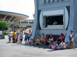 Stitch at Disney Magic Kingdom Sitting