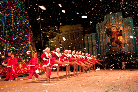Christmas At Universal Studios Orlando.Macy S Holiday Parade At Universal Studios Orlando Florida