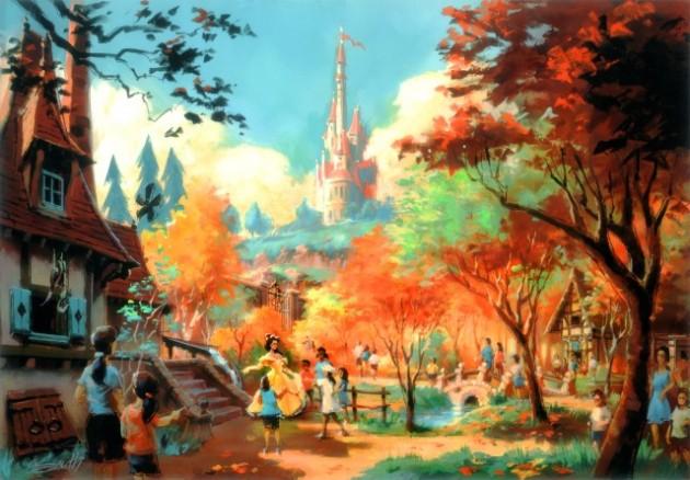 Fantasy Land Disney Orlando