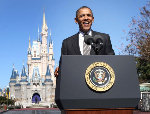 Obama at Walt Disney World