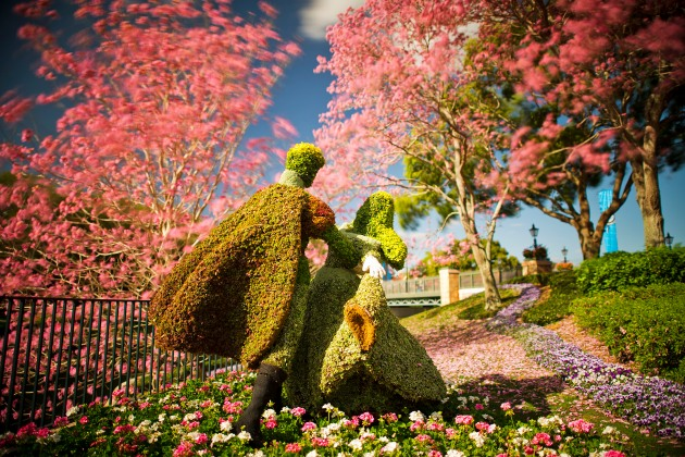 Disney Epcot Flower and Garden Festival