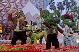 Disney Epcot topiary