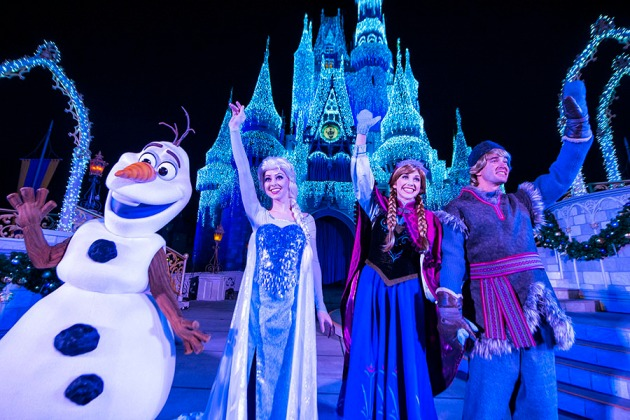 frozen characters Magic Kingdom