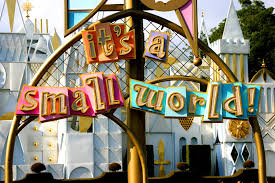 it is small world