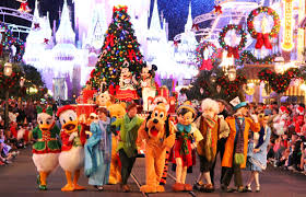 mickey christmas celebration
