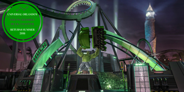 Universal's Incredible Hulk Coaster