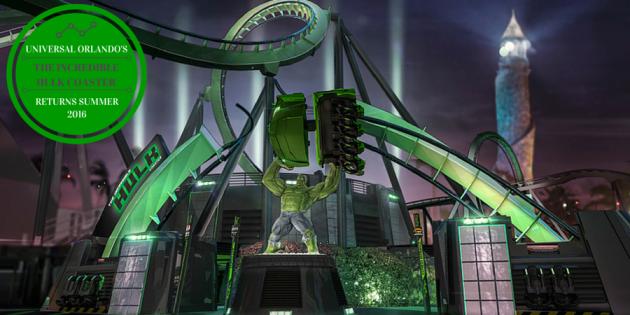 Universal's Incredible Hulk Coaster